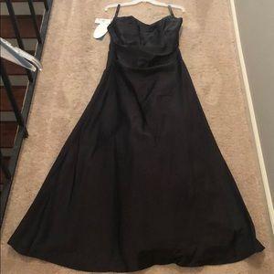 Black Alfredo Angelo evening dress NWT